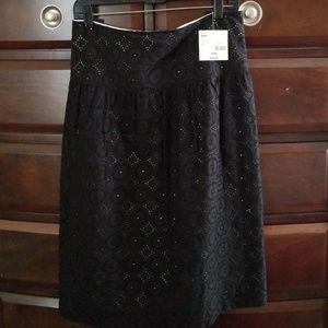 Women's Eyelet Skirt